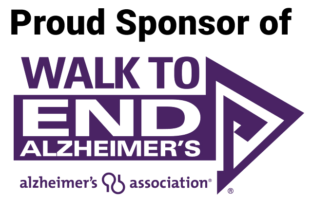 Proud Sponsor of: Walk to End Alzheimer's